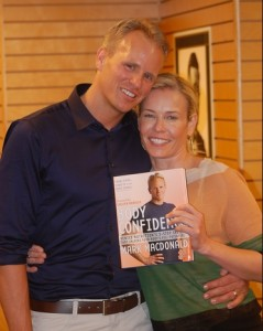 Mark Macdonald & Chelsea Handler at the launch of Body Confidence