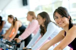 gym women exercising