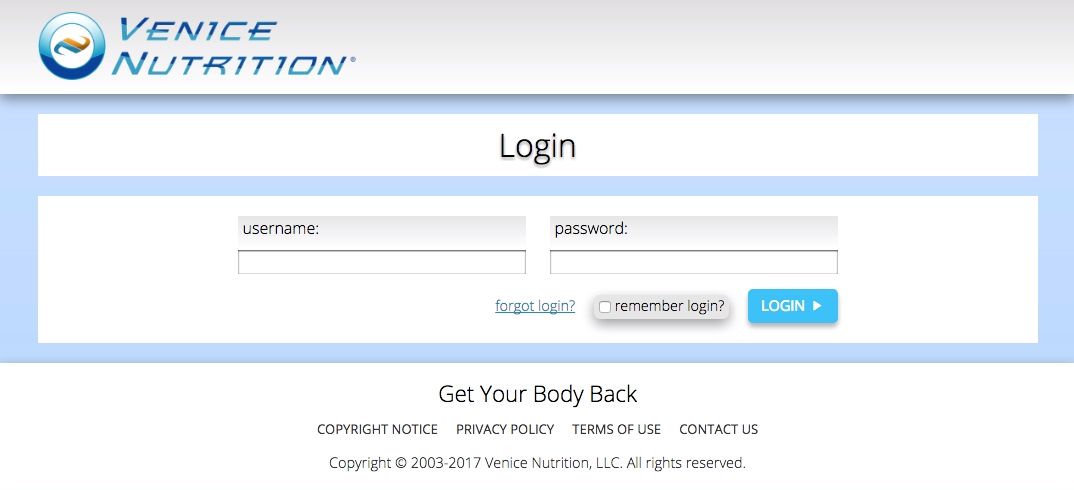 software-login-page