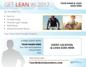 Cobranded Event Flyer Sample