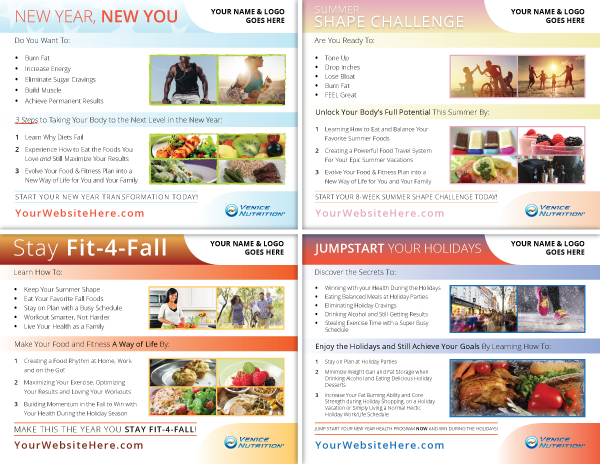 Venice Nutrition Marketing Flyers