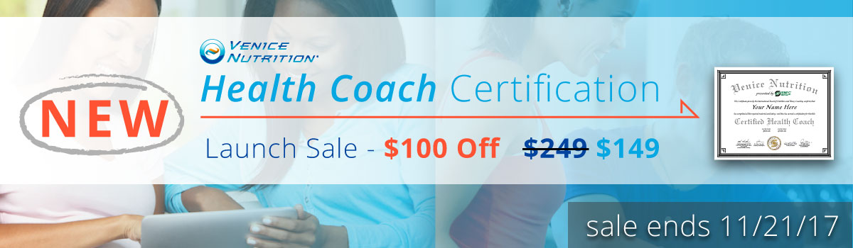 New Health Coach Certification Sale