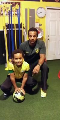 JJ and Kiki Gregoire Soccer